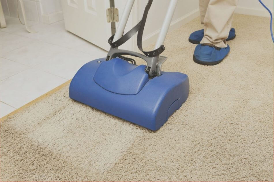 Vaccum Cleaner Cleaning A Carpet Angel Cleaners